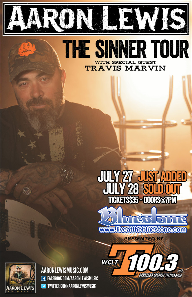 Aaron Lewis at The Bluestone