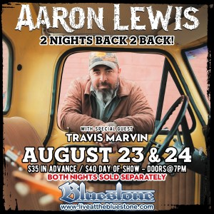 Aaron Lewis LIVE August, 23rd @ The Bluestone | Columbus | Ohio | United States