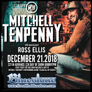SOLD OUT! Mitchell Tenpenny LIVE @ The Bluestone | Columbus | Ohio | United States