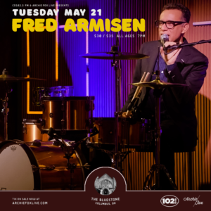 CD102.5 FM Presents Fred Armisen May 21st @ The Bluestone