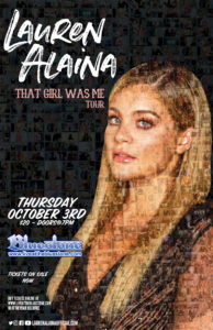 Lauren Alaina LIVE Oct 3rd 2019 @ The Bluestone