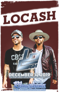 LOCASH  LIVE December 12th 2019 @ The Bluestone