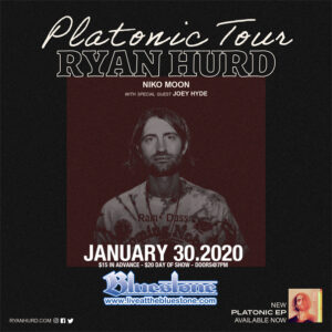 Ryan Hurd: Platonic Tour LIVE @ The Bluestone