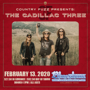 Country Fuzz Presents: The Cadillac Three Concert @ The Bluestone
