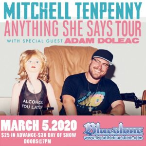 Mitchell Tenpenny Concert Tickets @ The Bluestone