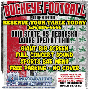 Ohio State Buckeye Football Party Oct. 24th @ The Bluestone